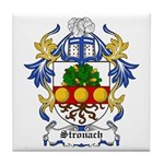Stronach Coat of Arms Tile Coaster