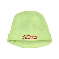 Fleece Navidad baby hat