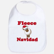 Fleece Navidad Bib