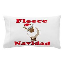 Fleece Navidad Pillow Case