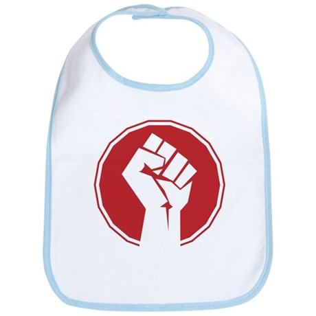 Vintage Retro Fist Design Bib