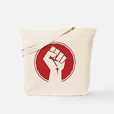 Vintage Retro Fist Design Tote Bag