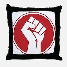 Vintage Retro Fist Design Throw Pillow