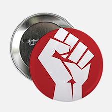 "Vintage Retro Fist Design 2.25"" Button"