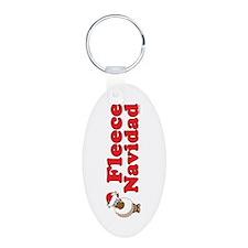 Fleece Navidad Keychains