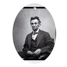 Abraham Lincoln Ornament (Oval)