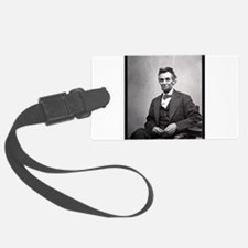 Abraham Lincoln Luggage Tag