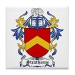 Stratherne Coat of Arms Tile Coaster
