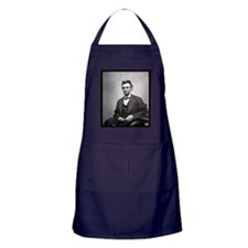 Abraham Lincoln Apron (dark)