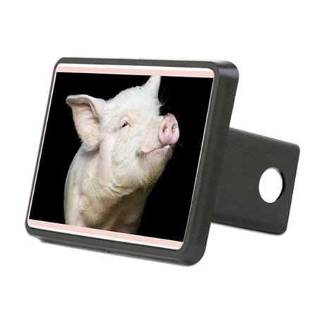 Cutest Pig Rectangular Hitch Cover