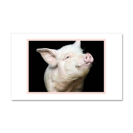 Cutest Pig Car Magnet 20 x 12