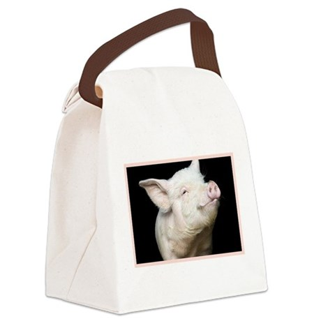 Cutest Pig Canvas Lunch Bag
