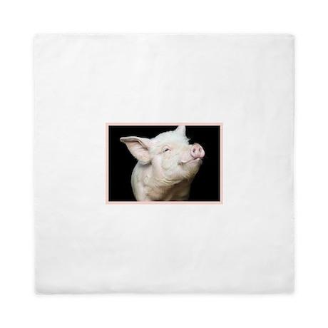 Cutest Pig Queen Duvet