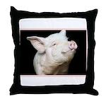 Cutest Pig Throw Pillow