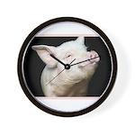 Cutest Pig Wall Clock