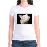 Cutest Pig Jr. Ringer T-Shirt