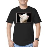 Cutest Pig Men's Fitted T-Shirt (dark)