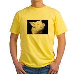 Cutest Pig Yellow T-Shirt