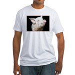 Cutest Pig Fitted T-Shirt