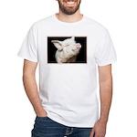 Cutest Pig White T-Shirt