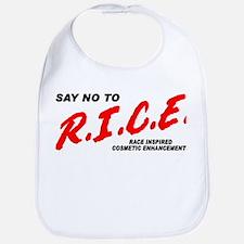Say No To Rice Bib
