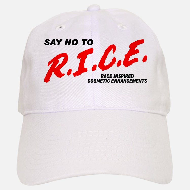 Say No To Rice Baseball Baseball Cap