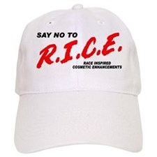 Say No To Rice Baseball Cap