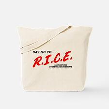 Say No To Rice Tote Bag