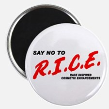 Say No To Rice Magnet