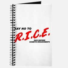 Say No To Rice Journal
