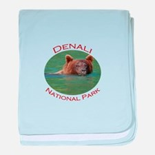 Denali National Park...Grizzly Bear baby blanket