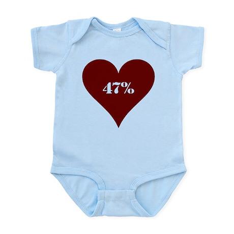 47% Hot Love Infant Bodysuit