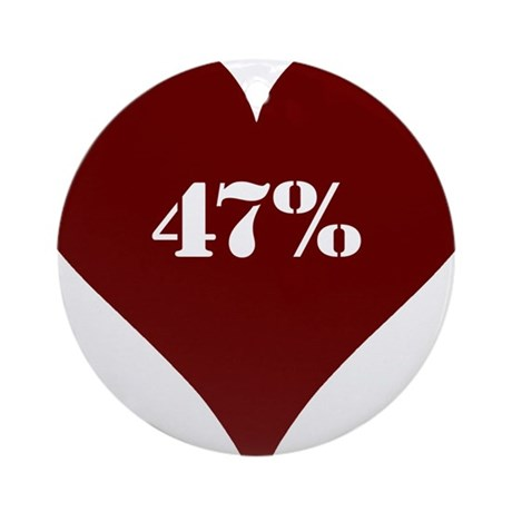 47% Hot Love Ornament (Round)
