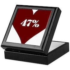 47% Hot Love Keepsake Box