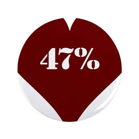 "47% Hot Love 3.5"" Button"