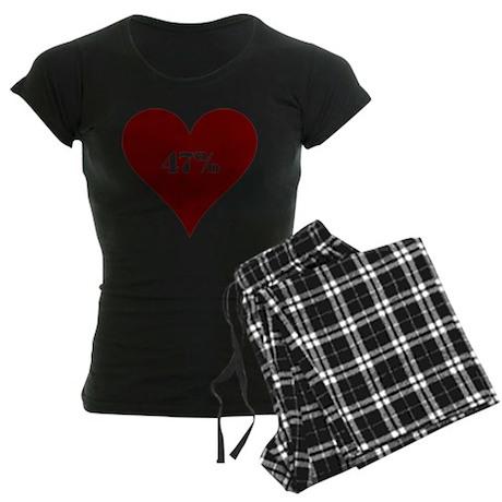 47% Hot Love Women's Dark Pajamas
