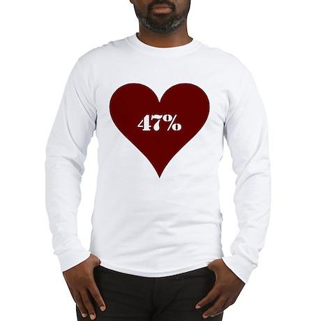 47% Hot Love Long Sleeve T-Shirt