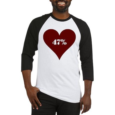 47% Hot Love Baseball Jersey