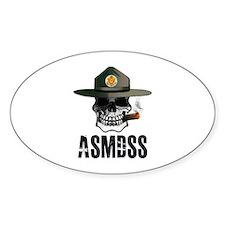 ASMDSS Skull Logo Decal