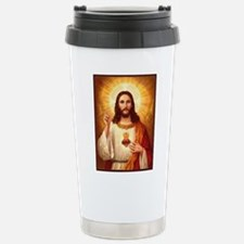 Sacred Heart of Jesus Travel Mug
