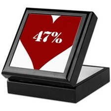 47% Red Love Keepsake Box