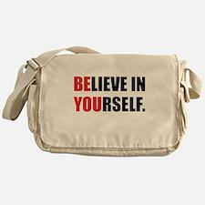 Believe in Yourself Messenger Bag