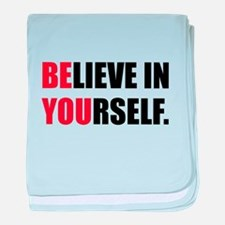Believe in Yourself baby blanket