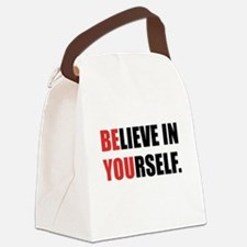 Believe in Yourself Canvas Lunch Bag