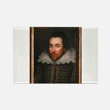 William Shakespeare Rectangle Magnet
