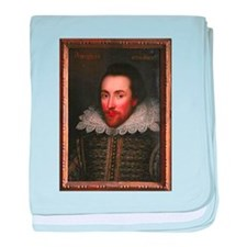 William Shakespeare baby blanket