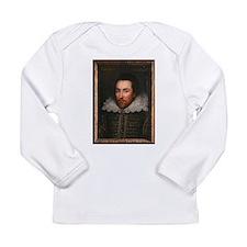 William Shakespeare Long Sleeve Infant T-Shirt