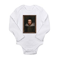 William Shakespeare Long Sleeve Infant Bodysuit