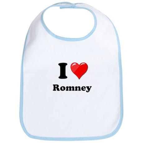 I Heart Love Romney.png Bib