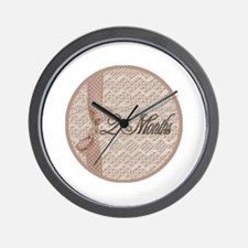 Vintage Lace Milestone 2 Months Wall Clock